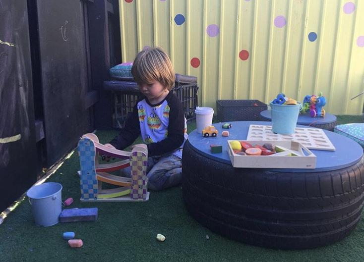 Little Melbourne visit Il Giardino Cafe