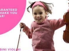 bambini violini