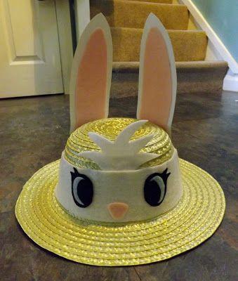 Rabbit Easter Hat