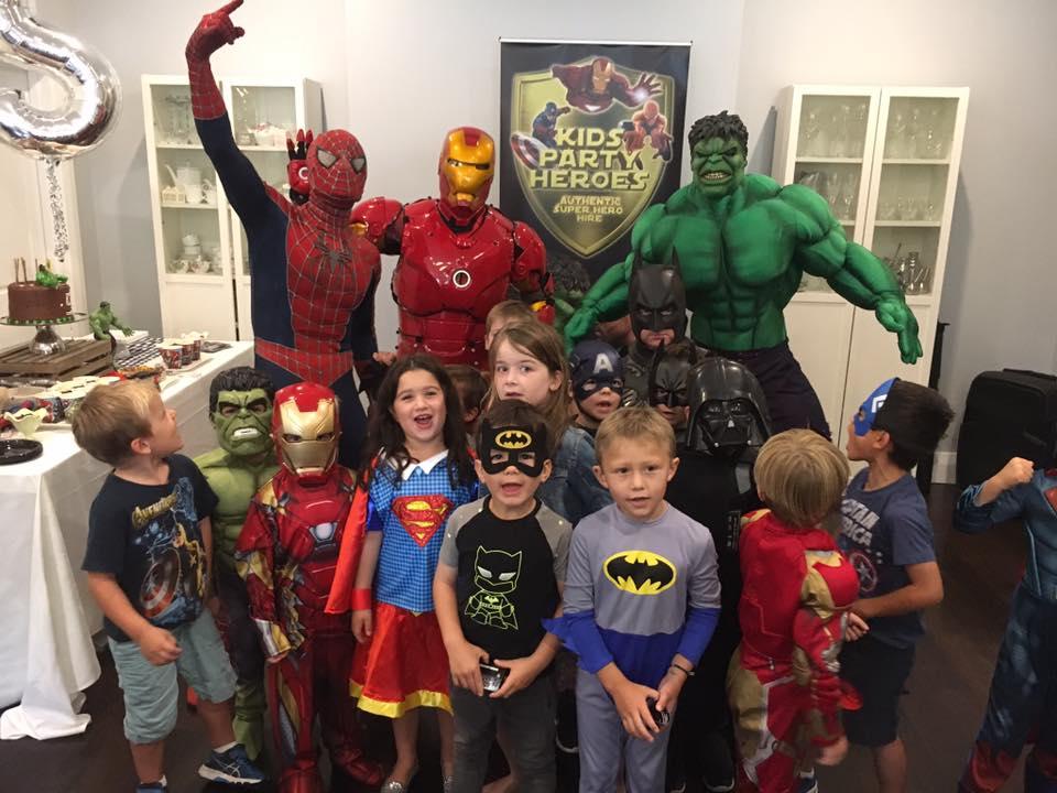 Kids Party Heroes
