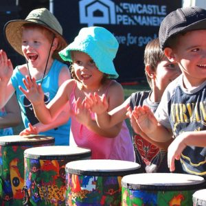 Kids on Congas