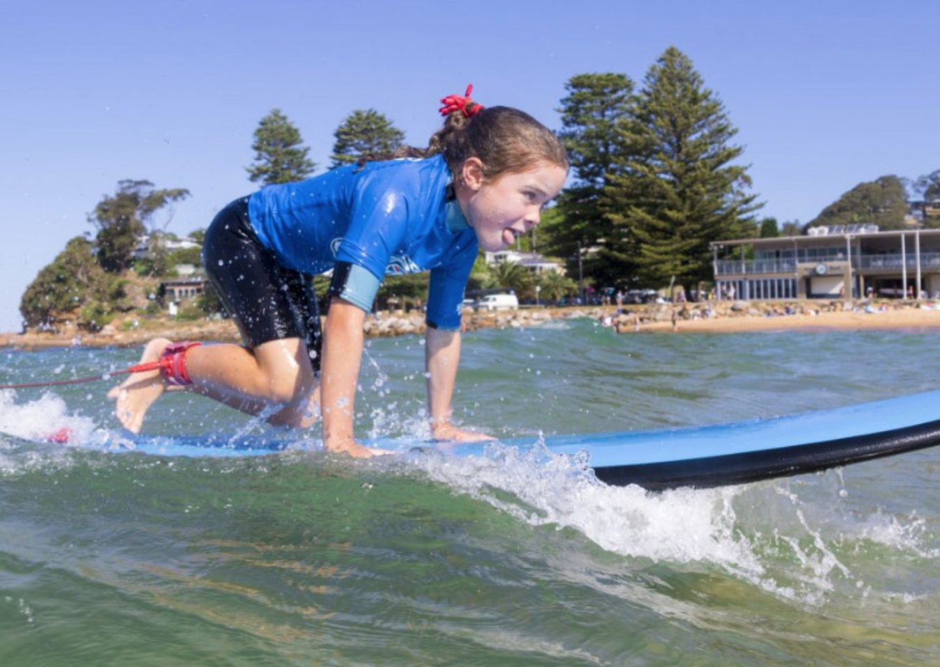 Avoca and Terrigal learn to surf