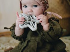 organic baby teethers