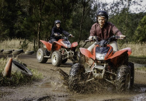 quad biking central coast