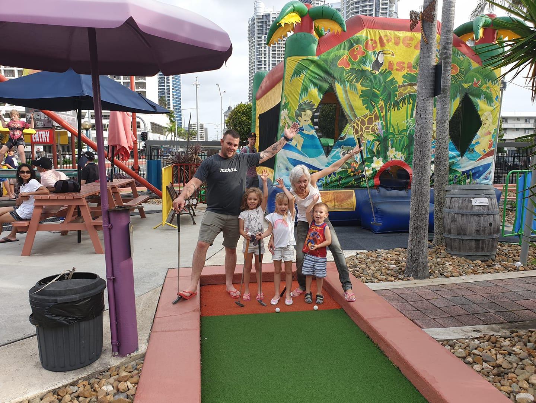 mini golf Gold Coast