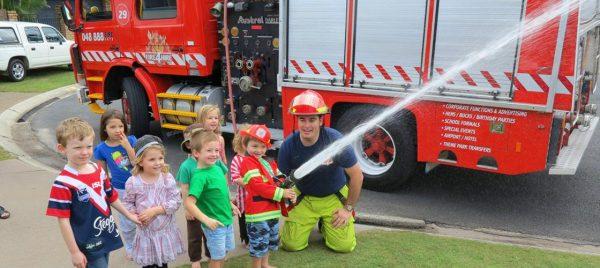 Gold Coast Fire Truck Tour