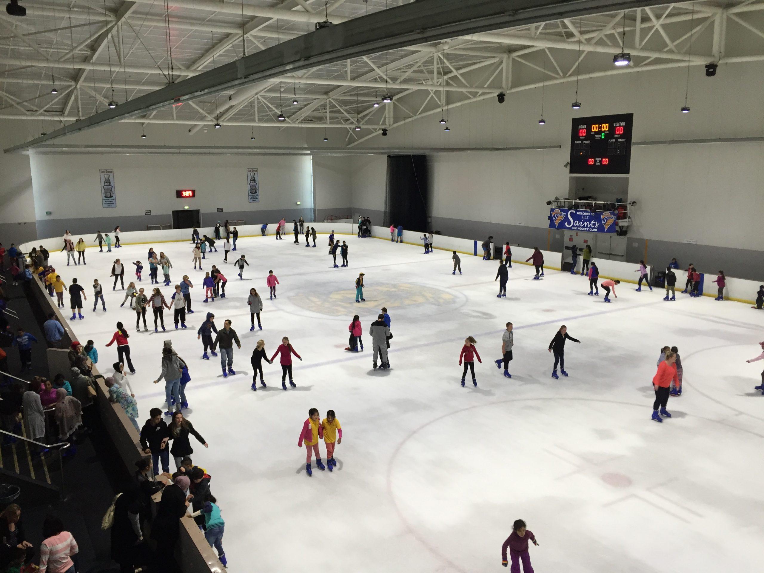 Sydney ice skating