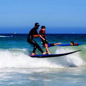 Surfing Lessons at Brighton Beach