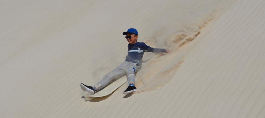 4WD Sand Dunes