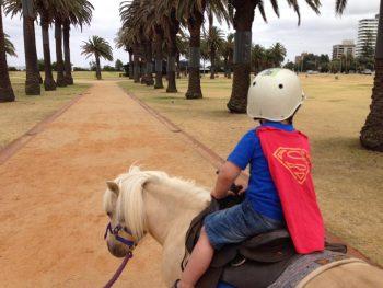 pony rides st Kilda